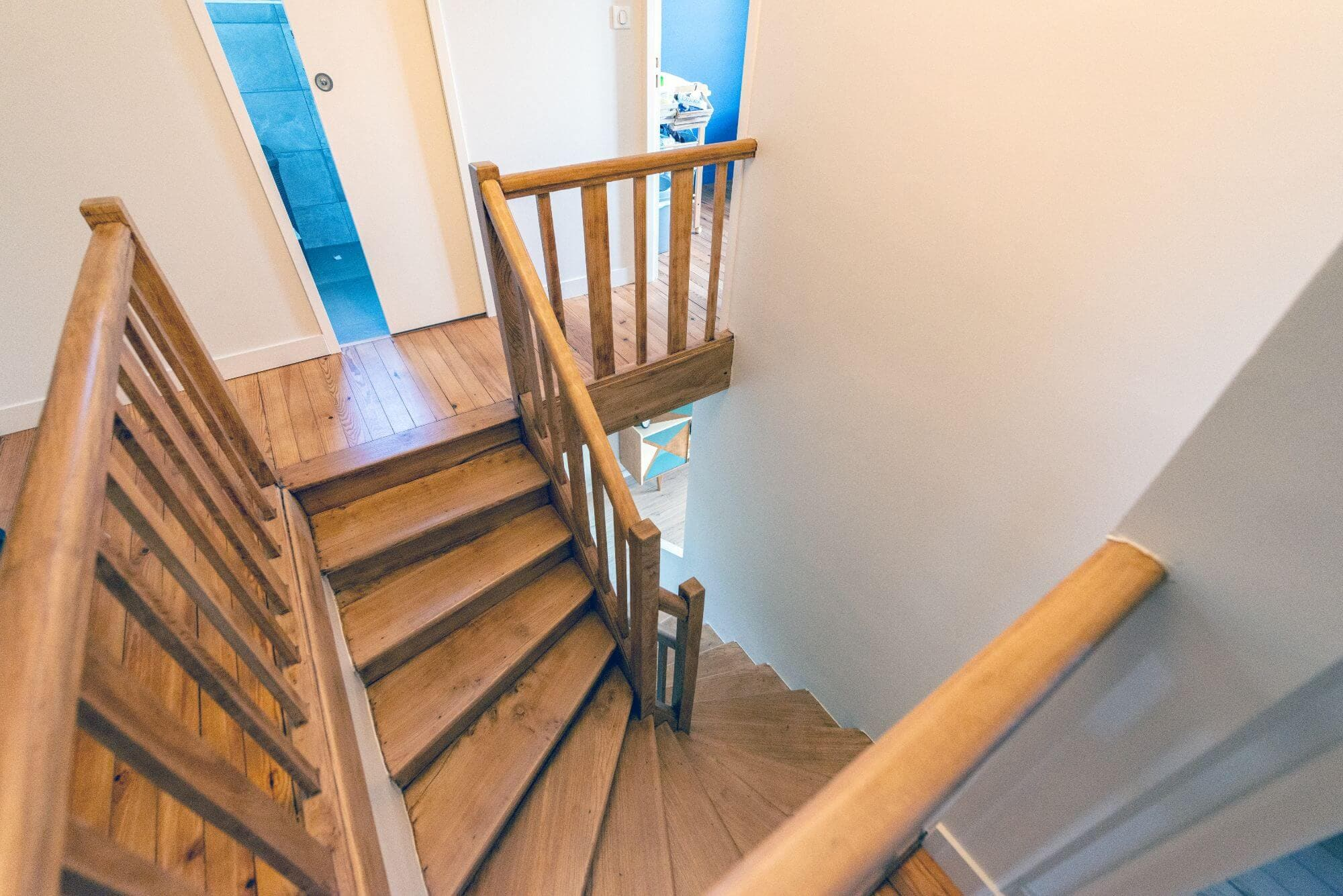 Escalier, Rénové