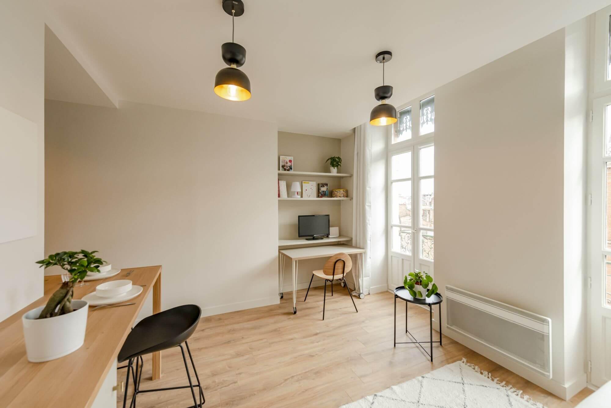 Bureau, Salon, Clic Clac, Rénovation, Archi intérieur